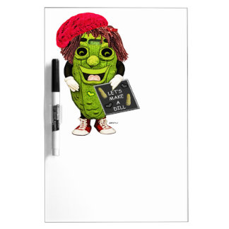 Dolly Dill Lets Make A Dill Dry Erase Board
