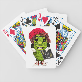 Dolly Dill Make A Dill Playing Cards