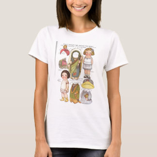 Dolly Dingle's Trip Around the World Paper Dolls T-Shirt