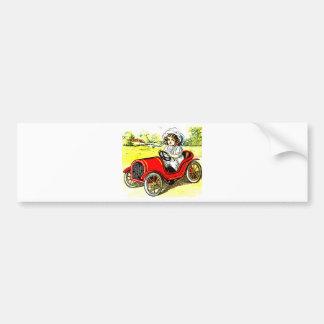 Dolly Drive Car Bumper Sticker