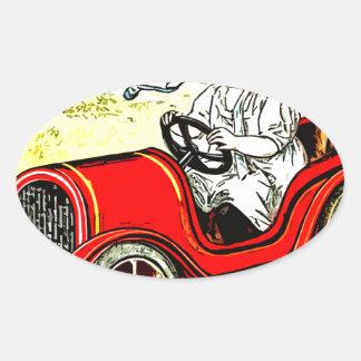 Dolly Drive Oval Sticker