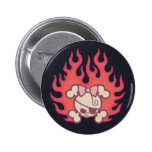 Dolly Flames Buttons