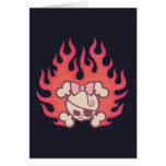 Dolly Flames Greeting Card