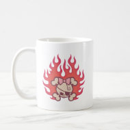 Dolly Flames mug