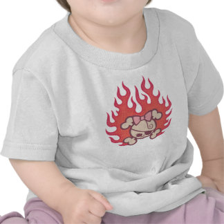 dolly-flames-T T-shirt