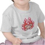Dolly Flames Tshirts