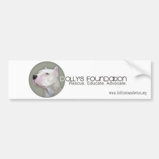 Dolly Grey Bumper Sticker