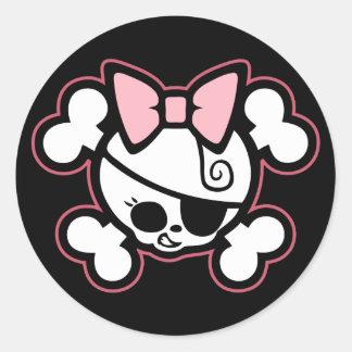 Dolly III Classic Round Sticker