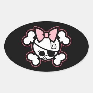 Dolly III Oval Sticker