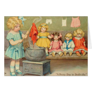 Dolly Laundry Cards