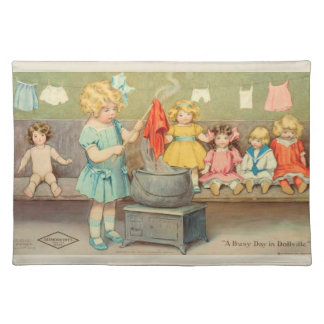 Dolly Laundry Placemat
