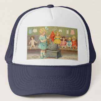 Dolly Laundry Trucker Hat