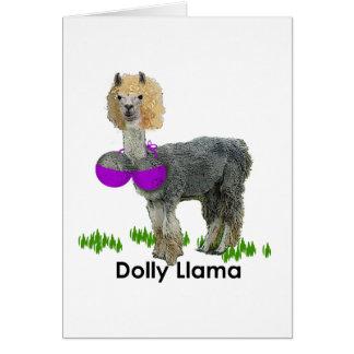 Dolly Llama Cards