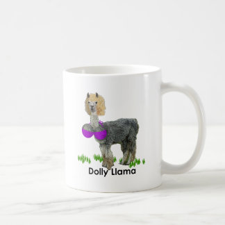 Dolly Llama Classic White Coffee Mug