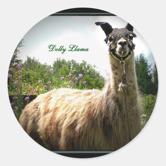 Dolly Llama Stickers *U Make It*