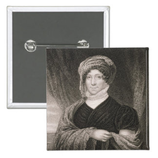 Dolly Madison, engraved by John Francis Eugene Pru Button