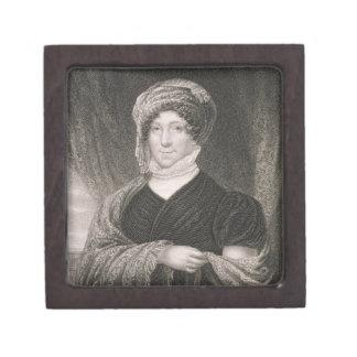 Dolly Madison, engraved by John Francis Eugene Pru Keepsake Box