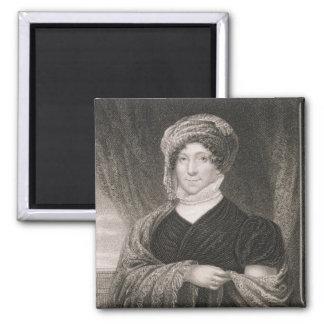 Dolly Madison, engraved by John Francis Eugene Pru Magnet
