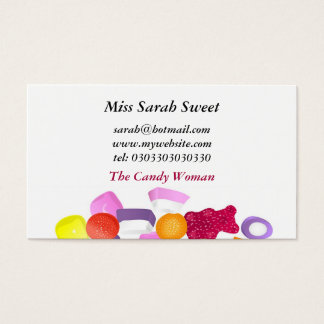 Dolly Mixtures Business Card