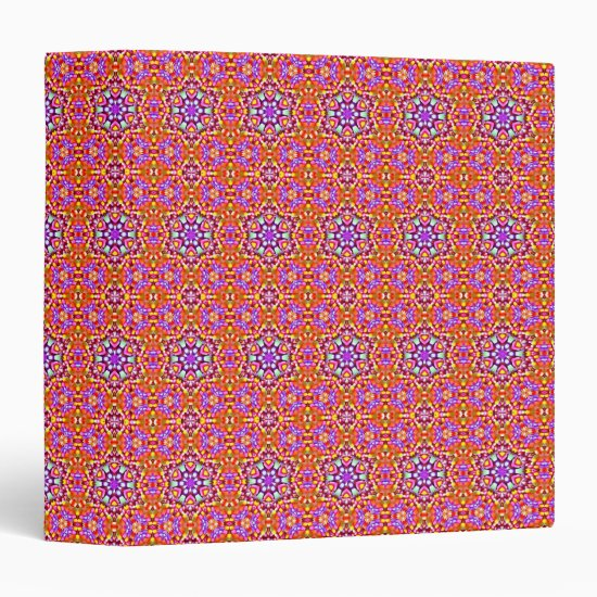 Dolly Mixtures Candy Fractal Art Pattern Binder