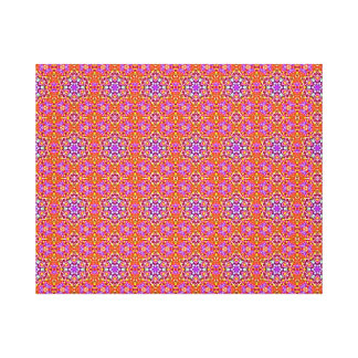 Dolly Mixtures Candy Fractal Art Pattern Canvas Print