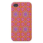 Dolly Mixtures Candy Fractal Art Pattern iPhone 4 Cases