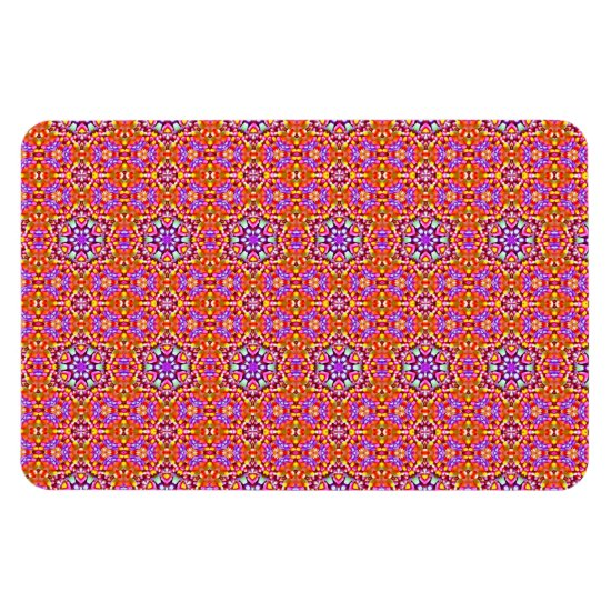 Dolly Mixtures Candy Fractal Art Pattern Magnet