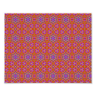 Dolly Mixtures Candy Fractal Art Pattern Poster