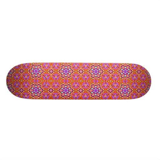 Dolly Mixtures Candy Fractal Art Pattern Custom Skateboard