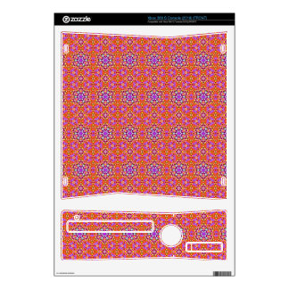 Dolly Mixtures Candy Fractal Art Pattern Skin For Xbox 360 S