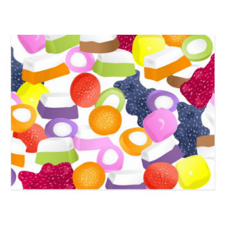 Dolly Mixtures Post Card