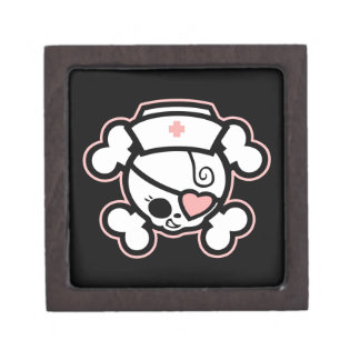 Dolly RN Heart Keepsake Box
