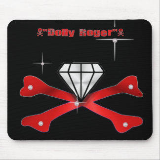 DOLLY ROGER MOUSE PAD