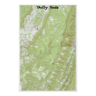 Dolly Sods Poster