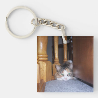 Dolly the Cat Keychain