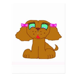 Dollyelf Pupkin Line Postcard