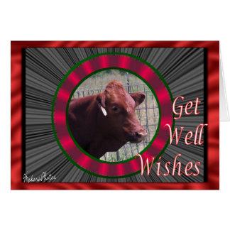 DollyGetWell--personalizar Tarjeta De Felicitación