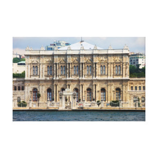 Dolmabahce Palace in Istanbul Stretched Canvas Print