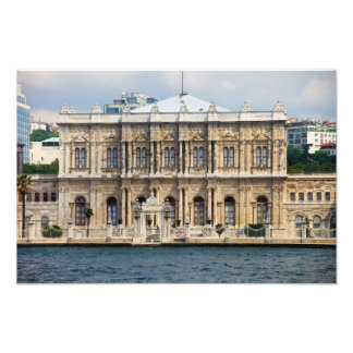 Dolmabahce Palace in Istanbul Photo Print