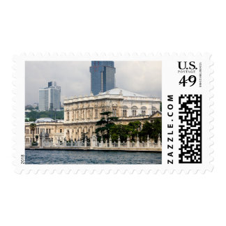 Dolmabahce Palace in Istanbul Postage