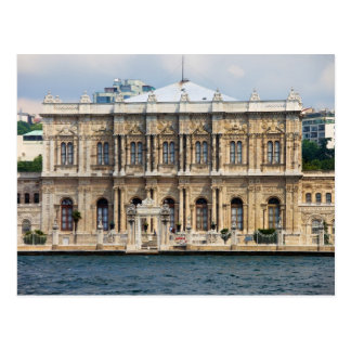 Dolmabahce Palace in Istanbul Postcard