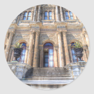 Dolmabahce Palace Istanbul Classic Round Sticker