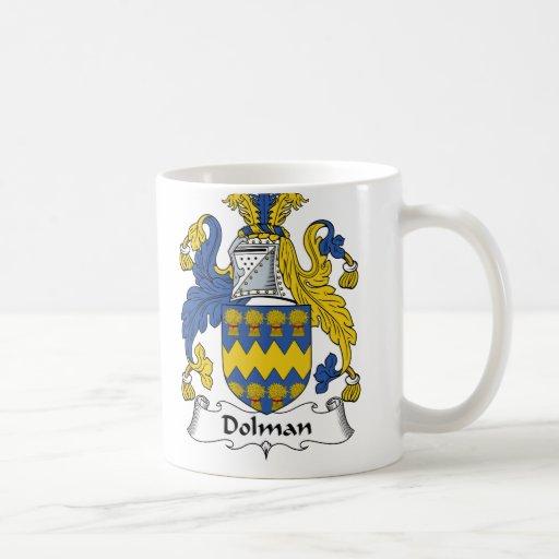 Dolman Family Crest Coffee Mug