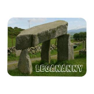 Dolmen de Legananny, megalito, Irlanda del Norte Imán