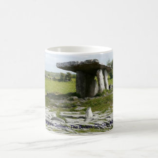 Dolmen de Poulnabrone, el Burren, Clare, Irlanda Taza
