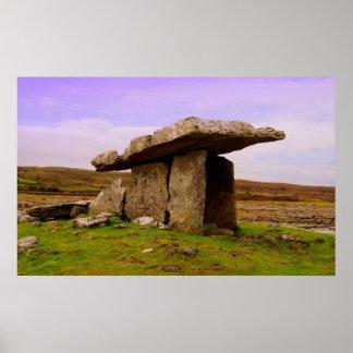 Dolmen de Poulnabrone Póster