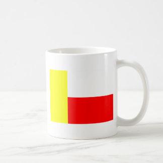 Dolni Poustevna, bandera de la República Checa Tazas De Café