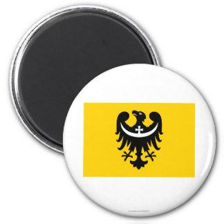 Dolnośląskie - una bandera más baja de Silesia Iman De Frigorífico