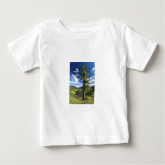 Dolomías - árbol sobre el valle playera de bebé