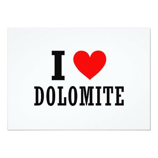 Dolomite, Alabama Custom Invite
